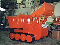 Lifesized toy electric/hydraulic vehicles